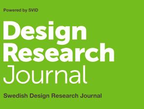 Logotype: Swedish Design Research Journal