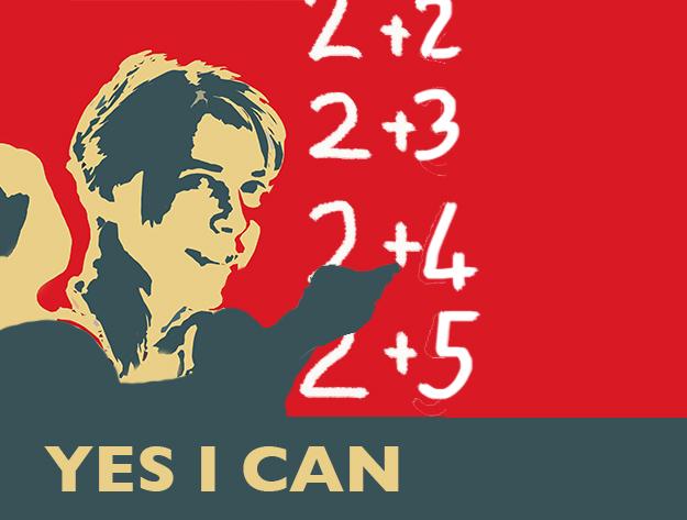 Yes I can - Barn som räknar.